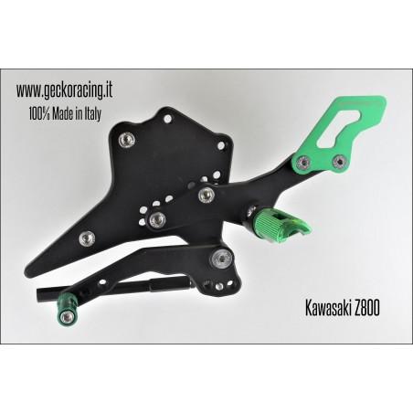 Rearsets Adjustable Kawasaki Z800 Gear