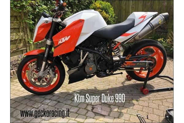 Rear Sets adjustable Ktm Super Duke 990