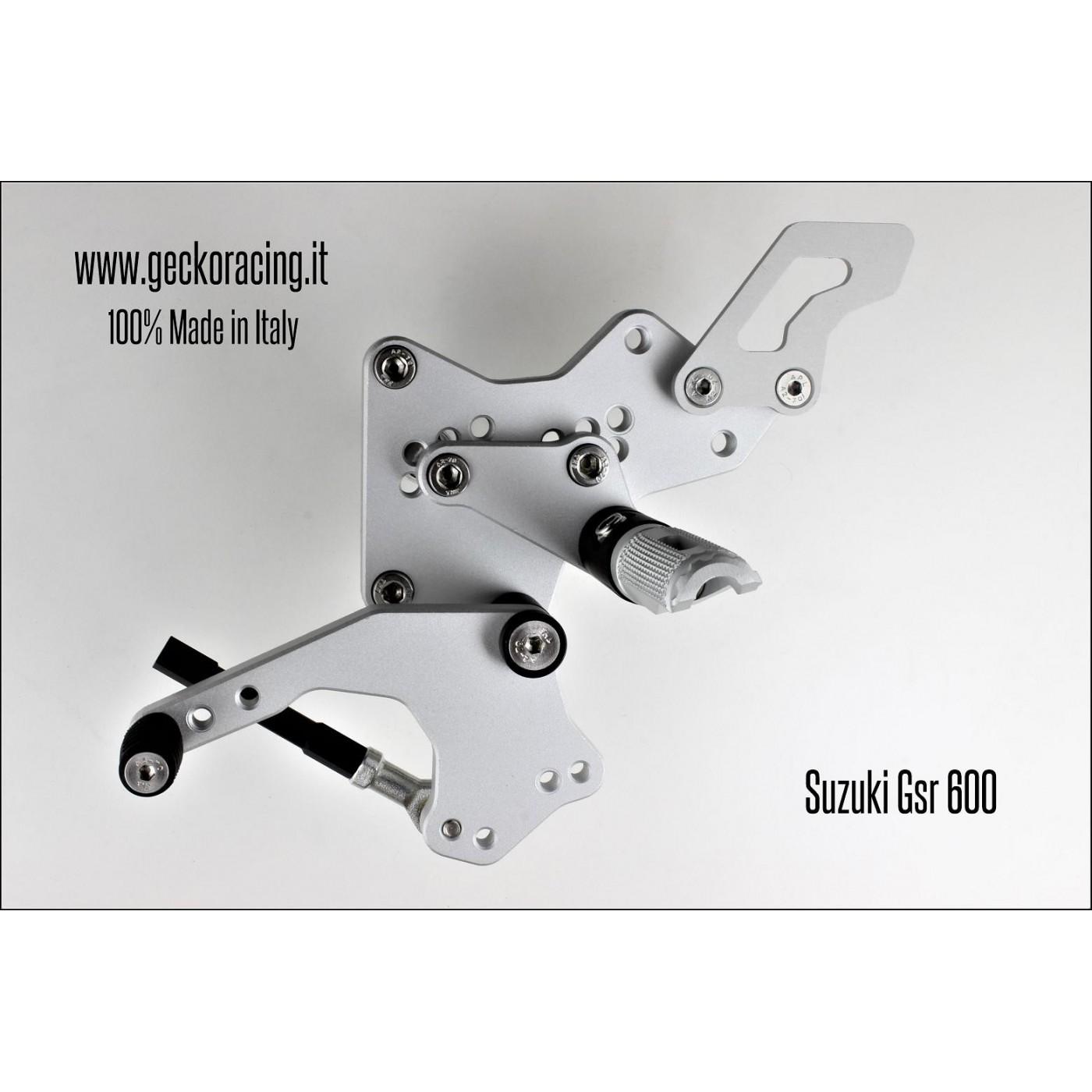 Rearsets Adjustable Suzuki Gsr 600 Gear