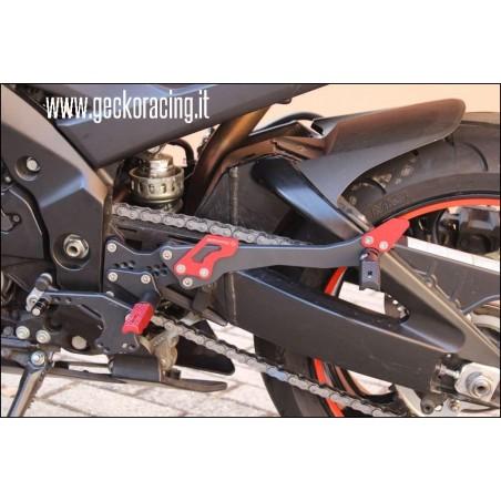 Accessori Pedane Suzuki Gsr600