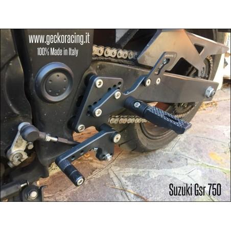 Pedane ricambi cambio Suzuki Gsr 750