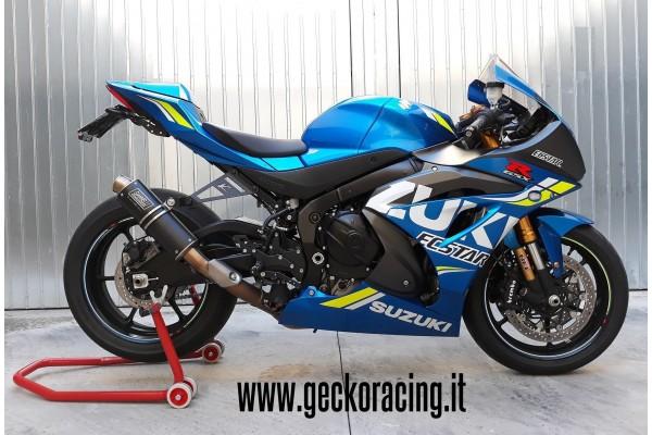 Pedane arretrate accessori Suzuki Gsx-R 1000