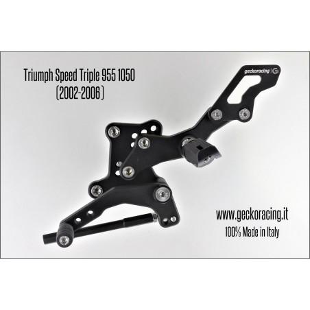 Rearsets Adjustable Triumph Speed Triple 955 1050 Gear
