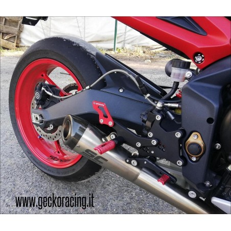 Accessories Rearsets Triumph Street Triple 675