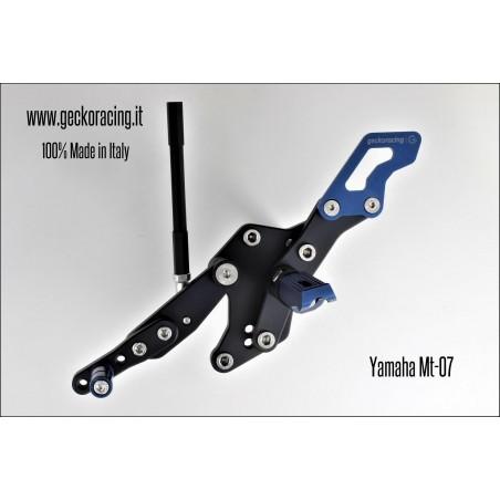 Rearsets Adjustable Yamaha Mt-07 Gear