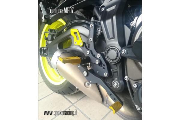 Pedane ricambi cambio Yamaha Mt-07