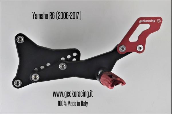 Rearsets Adjustable Yamaha R6 Gear