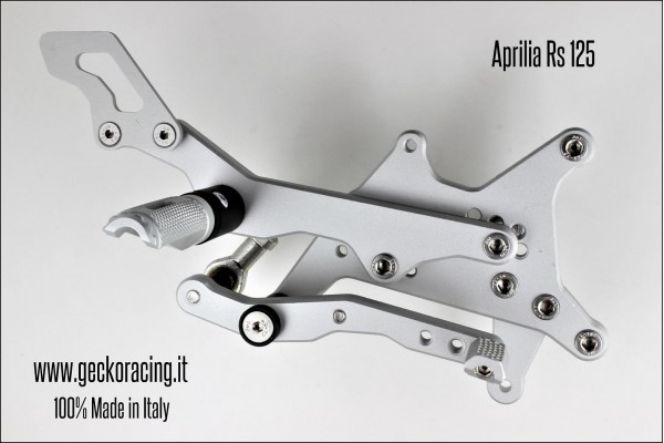 Rearsets Adjustable Aprilia Rs 125 brake